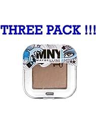 Drei Pack Maybelline Mny My Shadow Eye Shadow Lidschatten Cool Brown '417'