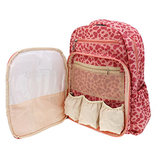Gazechimp Wasserdichte Mummy bag Windeltasche Rucksack 6 Farben Rosa
