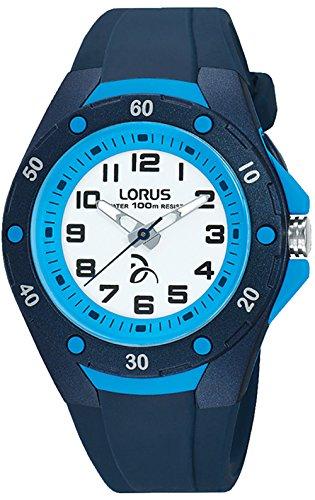 Lorus djokovic orologio Unisex Analogico al Al quarzo con cinturino in Silicone R2365LX9