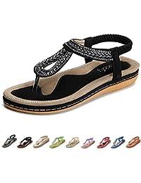 ace2081fec7 Amazon.fr   claquette femme - Sandales de marche   Chaussures de ...