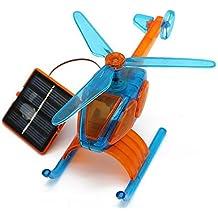 Little Treasures Helicopter Solar Model - Helps Children Learn Environmental Responsibility!