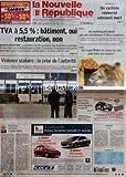 Telecharger Livres NOUVELLE REPUBLIQUE LA No 18612 du 21 01 2006 TVA A 5 5 BATIMENT OUI RESTAURATION NON UNION EUROPEENNE VIOLENCE SCOLAIRE LA CRISE DE L AUTORITE EDITORIAL L IVOIRE TERNI PAR JEAN PIERRE BEL BOURGUEIL UN CYCLISTE RENVERSE RETROUVE MORT TOURS UN COMMERCANT PLUME PAR UNE ENTRAINEUSE ET TROIS COMPLICES TOURS LE CIRQUE PINDER DE RETOUR EN VILLE POUR FAIRE SON NUMERO VOLLEY BALL LE TOURS VB JOUERA ROESELARE EN PLAY OFF CANDIDE ICI NICE SOMMAIRE LE FAIT DU JOUR (PDF,EPUB,MOBI) gratuits en Francaise