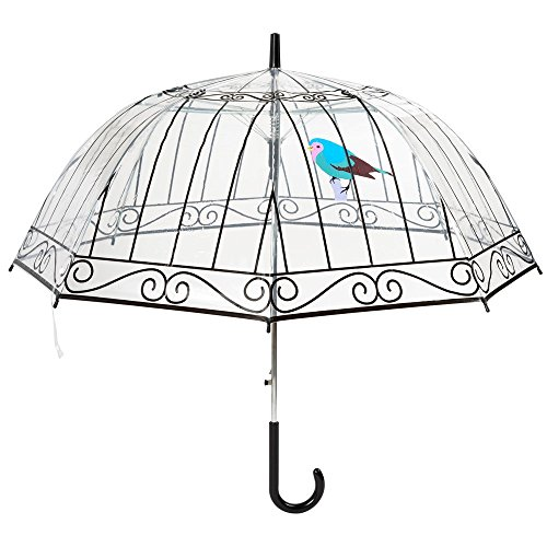 Le Studio Regenschirmkäfig, Schwarz/Weiß