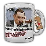 Alfred Tetzlaff Bildungslücke Drück Dich gefälligst gebildet aus - Tasse #9786