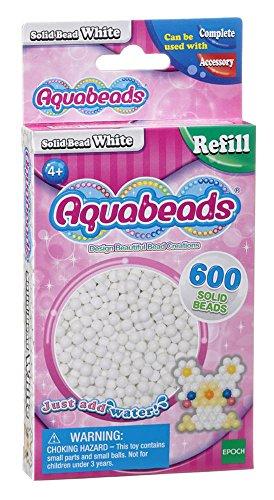 Aquabeads Refill Perlen weiß 600 Stk