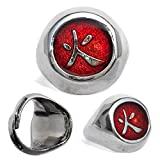 #9: High Quality Naruto Hokage Ring (Adjustable Size) - Free shipping - No import Charges