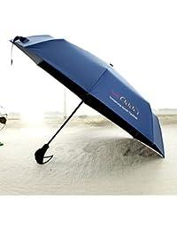 XING GUANG Audi Europe Et L'unique Parapluie Audi Umbrella 30% Parapluie Automatique Umbrella Parapluie en Vinyle,Blue