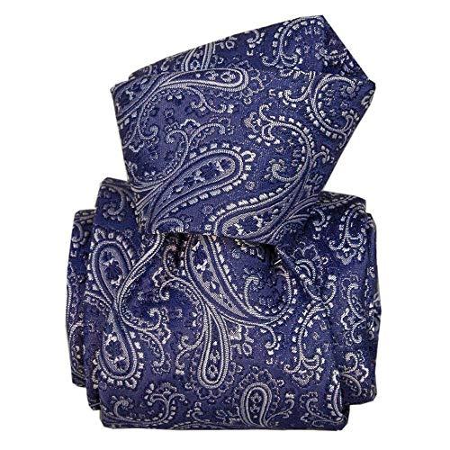 Segni et Disegni - Cravate Classique Segni Disegni, Denver Bleu