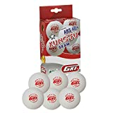 #6: GKI KUNG-FU ABS Plastic 40+ Table Tennis Ball, Pack of 96(White)