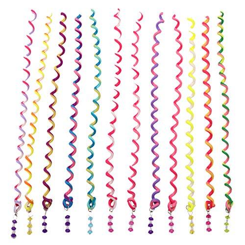 Bunte Haar Twister Clip Elastische DIY Haar Torsion Haarschmuck mit Strass Haar Accessoires Hair Styling Toolmaker für Frauen Mädchen (Diy-schnelle Und Einfache Halloween-kostüme)