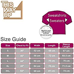 Swanson Sayings Dogs Sweater -x8 Colours- S to XXL Sizes