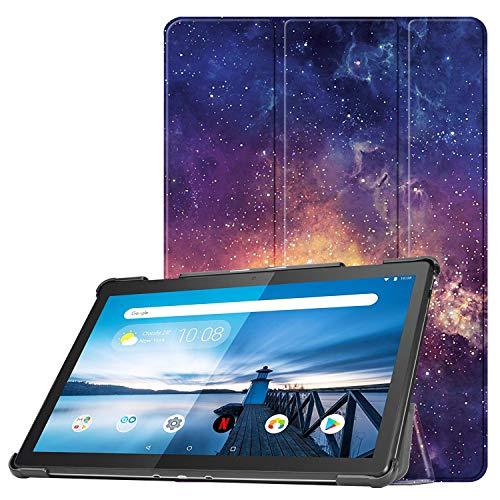 FINTIE Custodia Cover per Tablet Lenovo Tab M10 2018, Ultra Sottile Leggera  Custodia con Funzione di Supporto per Lenovo Tab M10 TB-X605F, Galaxy