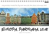 Europa Panorama 2018 (Tischkalender 2018 DIN A5 quer): Europäische Städte aus ungewohntem Blickwinkel. Für diese außergewöhnlichen Panoramen wurden ... (Monatskalender, 14 Seiten ) (CALVENDO Orte)