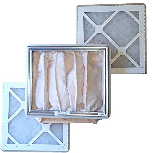 Ersatzfilter Set G3/M5 zu KWL 350-2x Vorfilter G3, 1x Feinfilter M5 - alternativ zu ELF-KWL 350/3/3/5 - Ersatzfilterset 3-teilig mit Dichtungen -