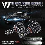 #6: V1 AXT LED Headlights (csp Chip) 80 W 12000lm (6000 Lm / Bulb) 6000 K (12 V, 40 W, 2 Bulbs)