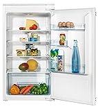 Amica EVKS 16404 Kühlschrank/A+ / 102 cm Höhe / 130 kWh/Jahr / 168 L Kühlteil/Antibakterielle Beschichtung / 3 Glasablagen Sicherheitsglas/weiß