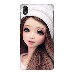 Enticing Innocent Angel Doll Multicolor Back Case Cover for Sony Xperia Z2