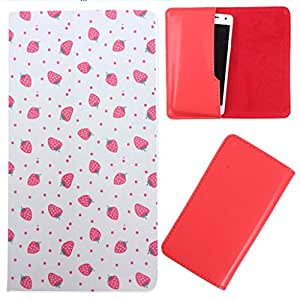 DooDa - For Lava Iris Fuel F1 PU Leather Designer Fashionable Fancy Case Cover Pouch With Smooth Inner Velvet