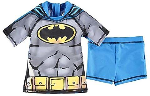 2 Piece Infant Boys Print Swim Set Swimwear Top Shorts