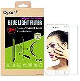 Cyxus filtro de luz azul (mejor sueño) bloqueo uv 9H pantalla de vidrio temperado para Apple iPhone 6 Plus iphone 6S plus(5,5 pulgada) especialmente para las mujeres