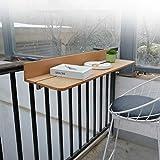 Ailj Établi Mural Pliant, Balustrade du Balcon De La Cour Table Suspendue Bar Familial Table...
