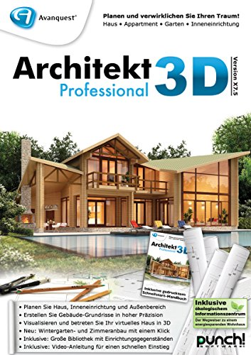 Architekt 3D X7.5 Professional [PC Download]