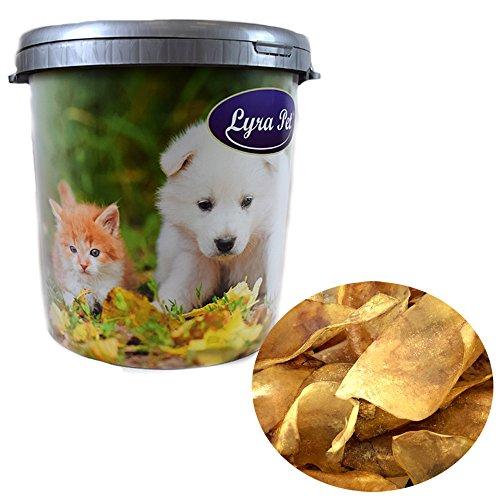 Lyra Pet 100 Rinderohren ca. 3 kg Hundeleckerli Wie Schweineohren in 30 L Tonne