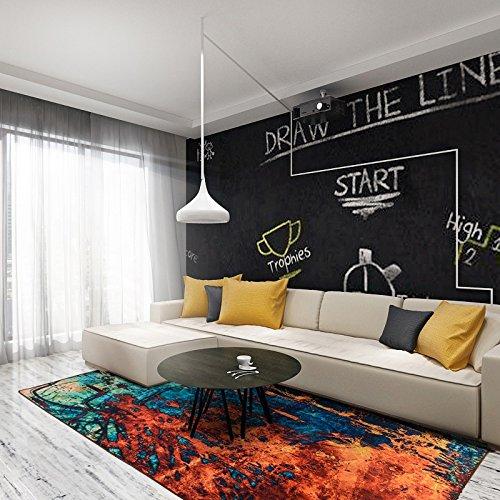 Nordic Teppich Einfachen Stil Europäischen Großes Wohnzimmer Sofa Couchtisch Teppich Modernes Zuhause Schlafzimmer Voller Zimmer Nachttisch Teppich Ztoyby (Size : 1.4 * 2.0m)