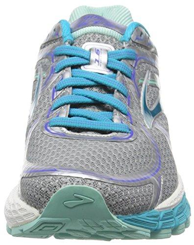 Brooks Damen Adrenaline Gts 16-120203 2a 170 Traillaufschuhe Silber (argento / Bluebird / Bluetint 170)