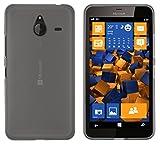 mumbi Schutzhülle für Microsoft Lumia 640 XL Hülle transparent schwarz