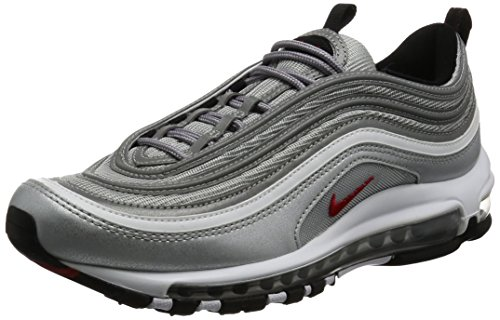 nike air max 97 silver argento