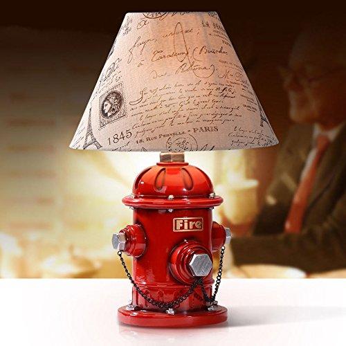 Jahrhundert Zwölf Licht (XY&GKKinder Schlafzimmer Bedlamp Amerikanische kreative Persönlichkeit schöne Einfachheit Arbeitszimmer Lampe Hydrant 12 * 33 cm#36 mit hoher Qualität)