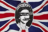 Classic Sex Pistols God Save The Queen Poster British Flag Punk 24 x 36
