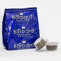 150 CAPSULE CAFFE' BARBARO compatibili bialetti CREMOSO NAPOLI Dal gusto equilibrato e rotondo, corposa, cremosa e allo stesso tempo tostata e dosata un caffè unico, morbido e da far invidia al tuo bar di fiducia.