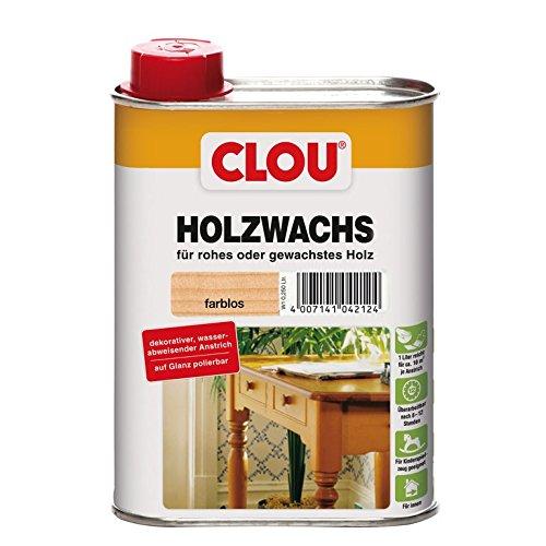 Holzwachs W1 farblos 0,250 L