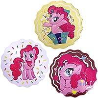 Magdalenas dulces del partido de Oficial My Little Pony Pinkie Pie x 3 Paquete