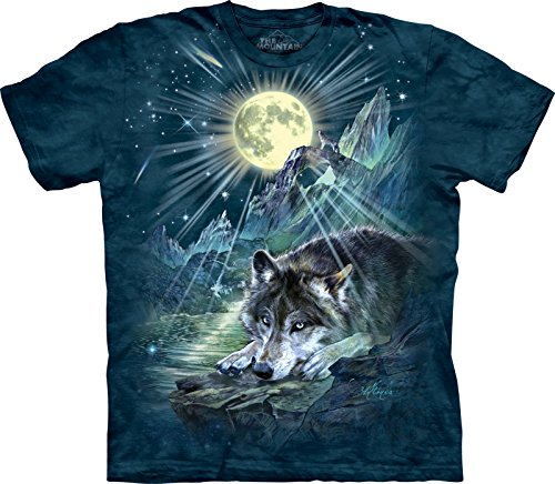 The Mountain Maglietta Wolf Night Symphony Anima Bambino Unisex M
