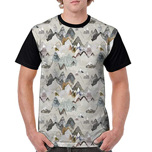 Call of The Mountains Men T Shirt Cotton Tall Holiday Lightweight XX-Large