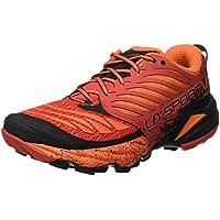 La Sportiva Akasha Trail Running Calzado para Hombre, Rojo (Flame), 42 EU