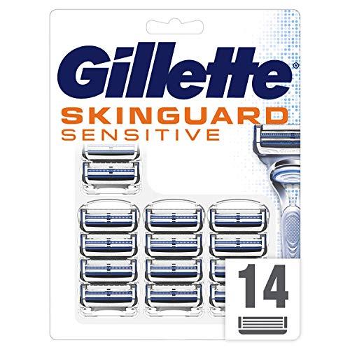 Gillette SkinGuard Sensitive Rasierklingen, 14 Stück