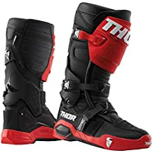 a9abea6d7e Thor Radial Offroad Motocross Stiefel rot schwarz