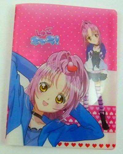 Kawaii Manga Girl 20 tasche A4 leggero Cartella di visualizzazione Prenota File (blu)