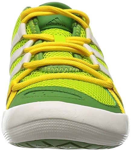 adidas Climacool Boat Lace, Chaussures de Voile Mixte Adulte, Vert Grün (Semi Solar Slime/Chalk White/Raw Lime S16)