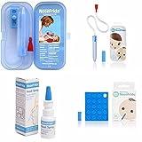 Nosefrida Baby-Nasensauger & Fall X2+ zusätzliches X 20Filter + Nasenspray.