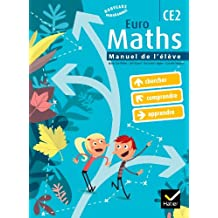 Euro Maths CE2 éd. 2010 - Manuel de l'élève + Aide-mémoire