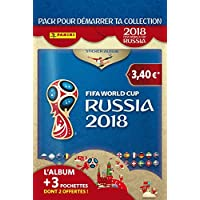 Panini France SA Coupe du Monde 2018 Stickers Album + 3 Pochettes (1 + 2 offertes) - Version française