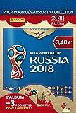 Coupe du monde 2018 STICKERS Album + 3 pochettes (1 + 2 offertes) - version française