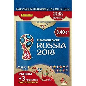 panini 003497ae album coupe de monde russie 2018 jeux et jouets. Black Bedroom Furniture Sets. Home Design Ideas