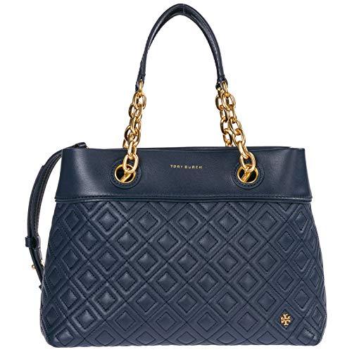 Tory Burch damen Fleming Handtaschen blu