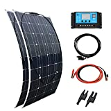 XINPUGUANG 200w 12v kit pannello solare flessibile monocristallino pohovoltaic 2 pz 100 w 18 v...